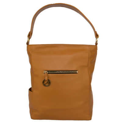 British Tan Diamanti Luxury Handbag
