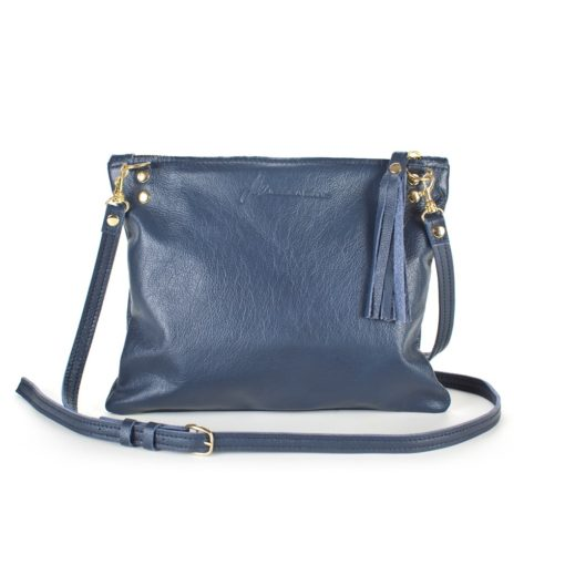 Navy Relaxed Crossbody view showing logo